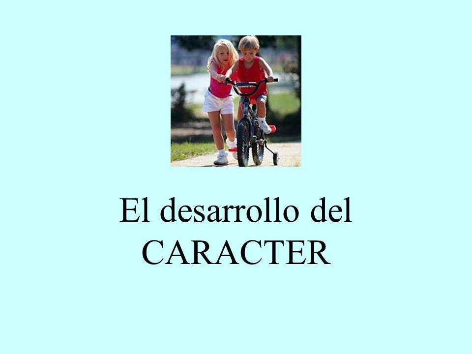 El desarrollo del CARACTER