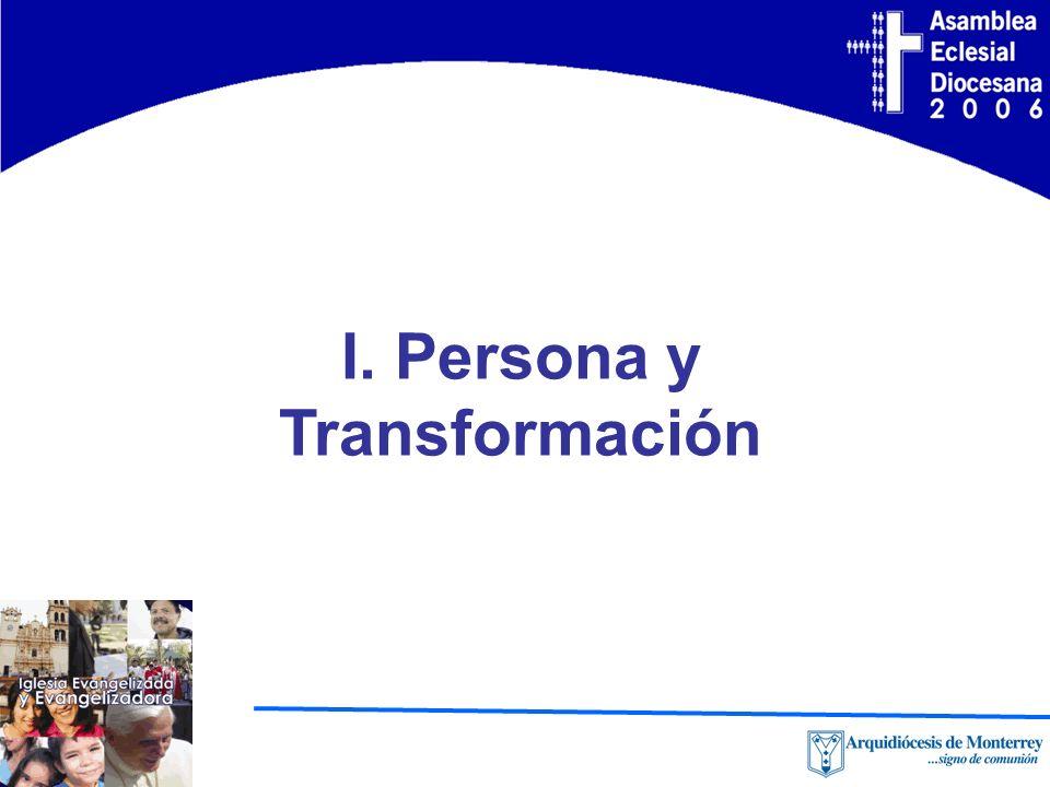 I. Persona y Transformación