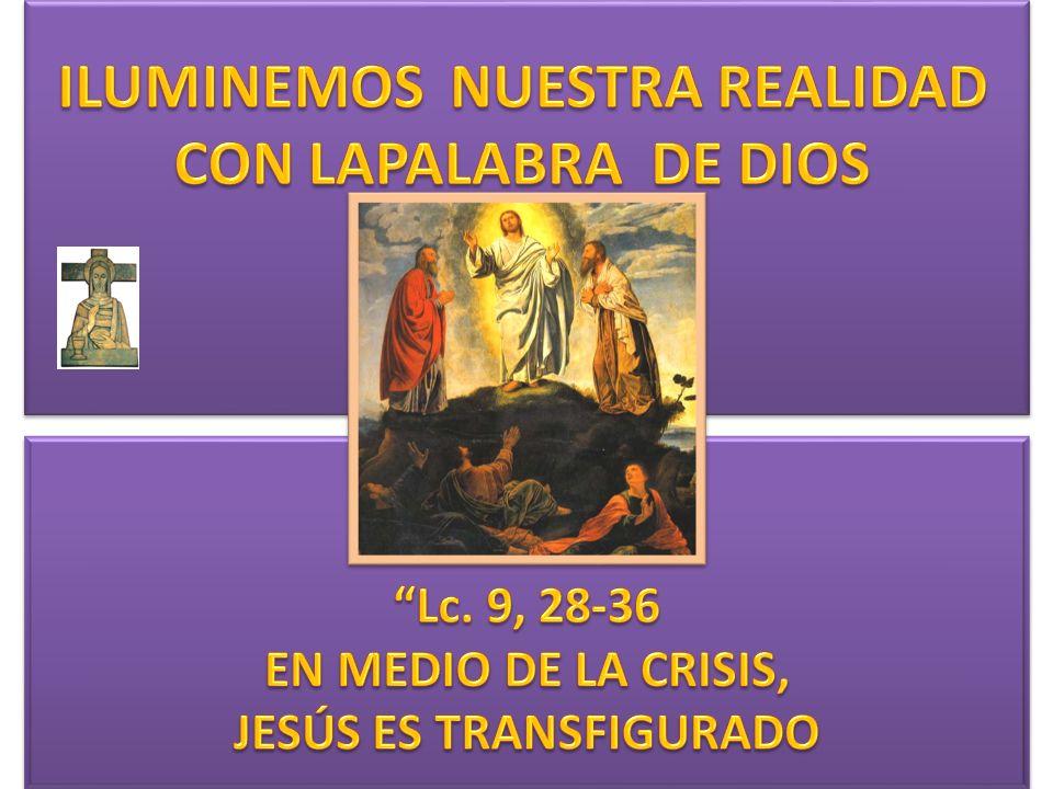 En aquel tiempo, Jesús se hizo acompañar de Pedro, a Juan y a Santiago y subió a lo alto de la montaña, para orar.