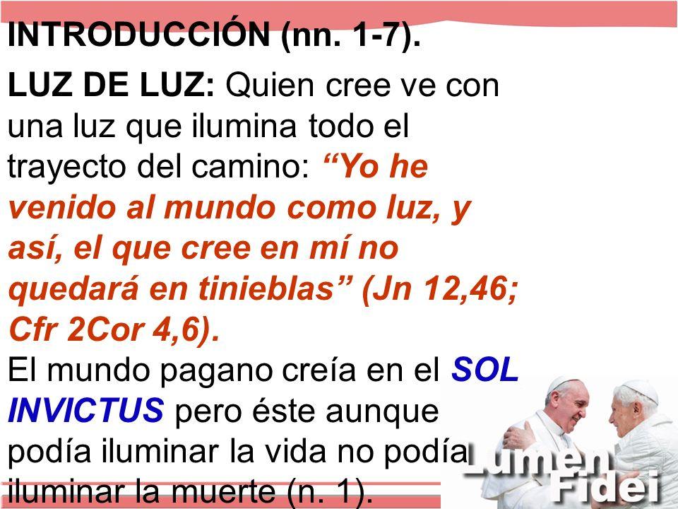 INTRODUCCIÓN (nn.1-7).