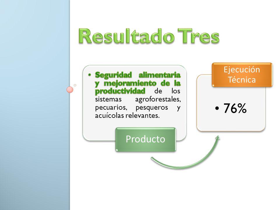 Producto 76% Ejecución Técnica