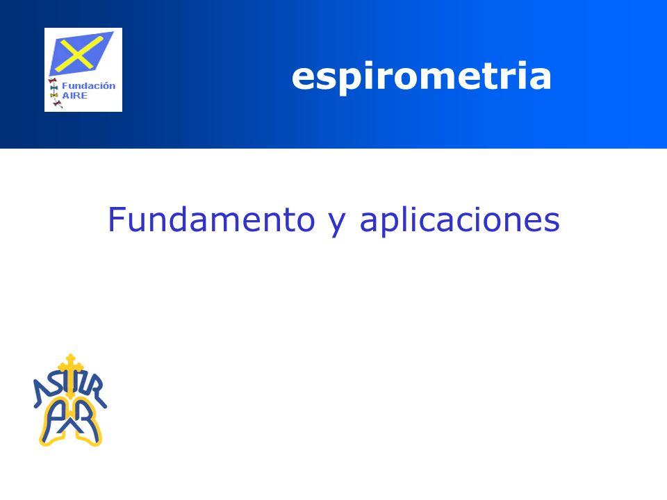 espirometria Fundamento y aplicaciones