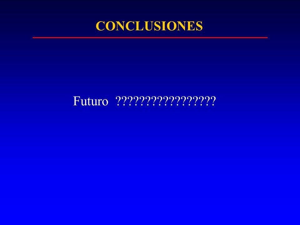 CONCLUSIONES Futuro ?????????????????