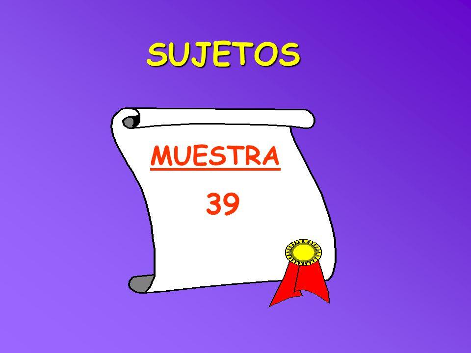 MUESTRA SUJETOS 39