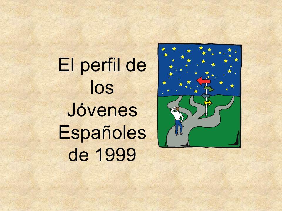 El perfil de los Jóvenes Españoles de 1999