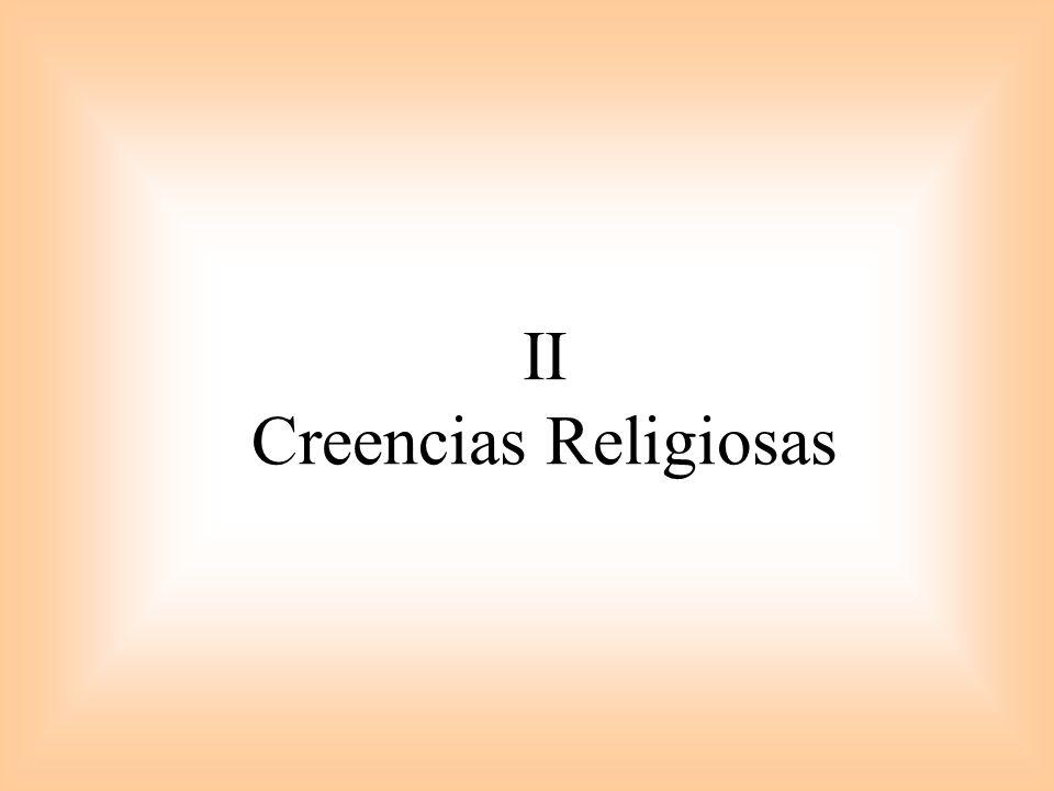 II Creencias Religiosas