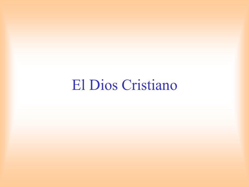 El Dios Cristiano