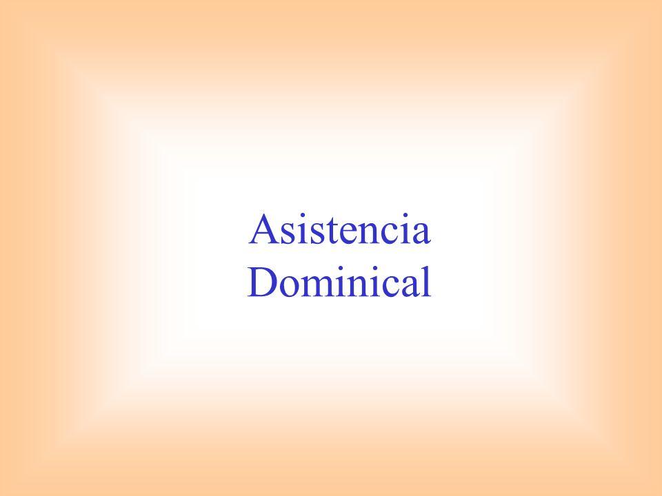 Asistencia Dominical
