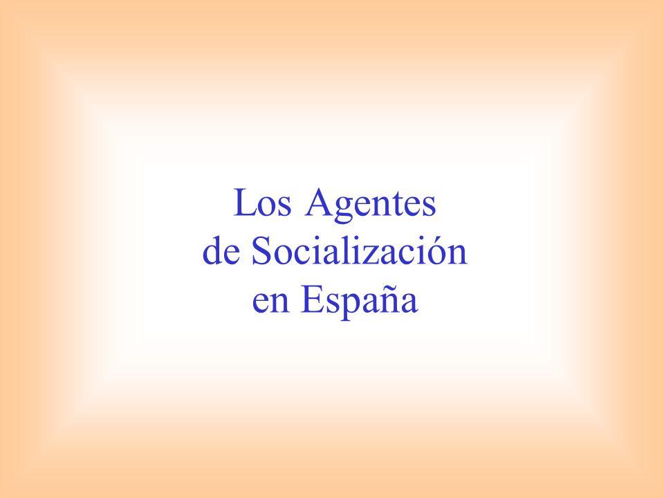 Los Agentes de Socialización en España