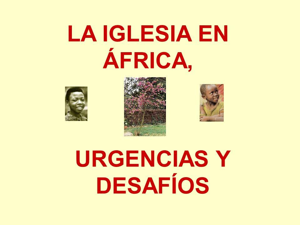 URGENCIAS Y DESAFÍOS LA IGLESIA EN ÁFRICA,
