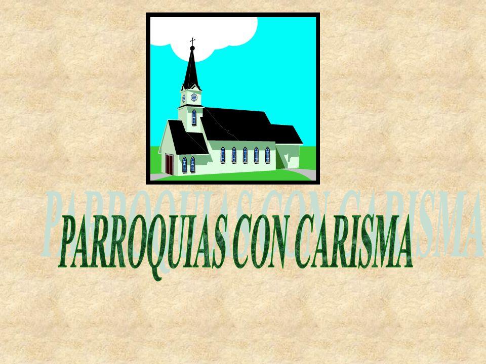 LA VOCACIÓN COMUNITARIA Dios quiso enriquecer a la historia de la Comunidad Parroquial con un carisma concreto durante un tiempo.