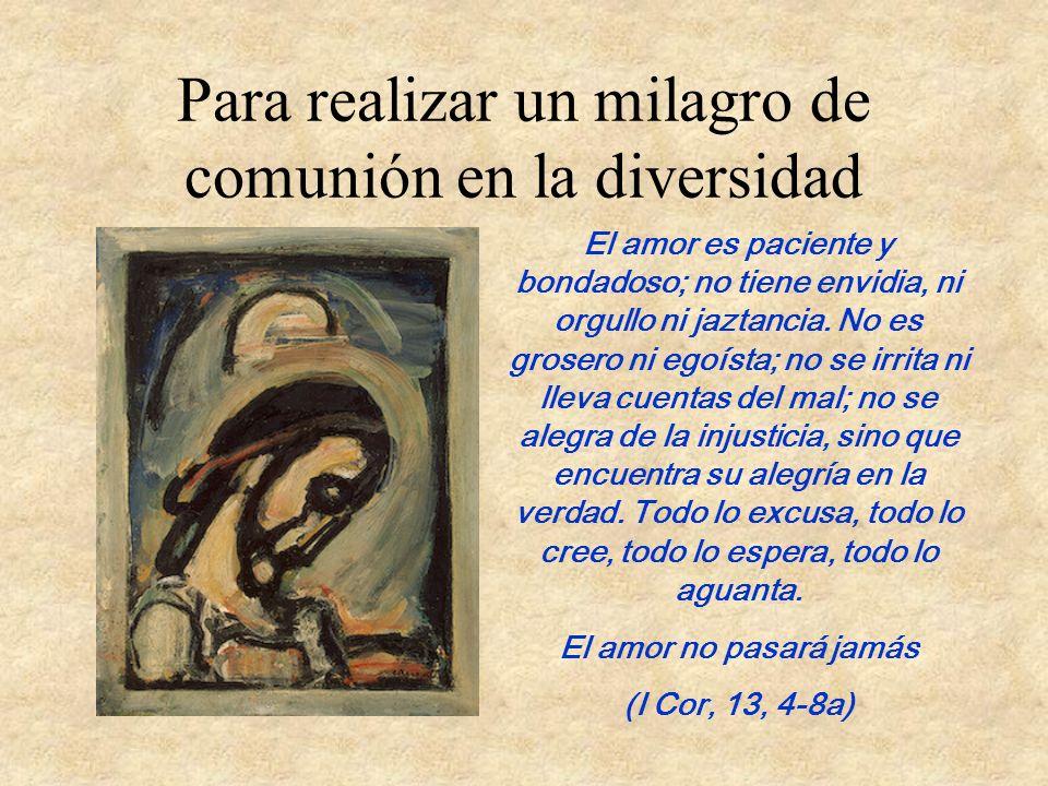 A la Raíz de todo la llamada personal de Dios Dios nos llama a cada uno desde nuestra realidad personal. Cada uno distinto