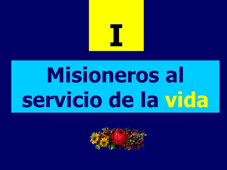 Misioneros al servicio de la vida I