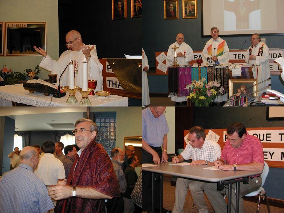 La vida comunitaria Profundo reconocimiento hacia la Congregación como ámbito de vida.