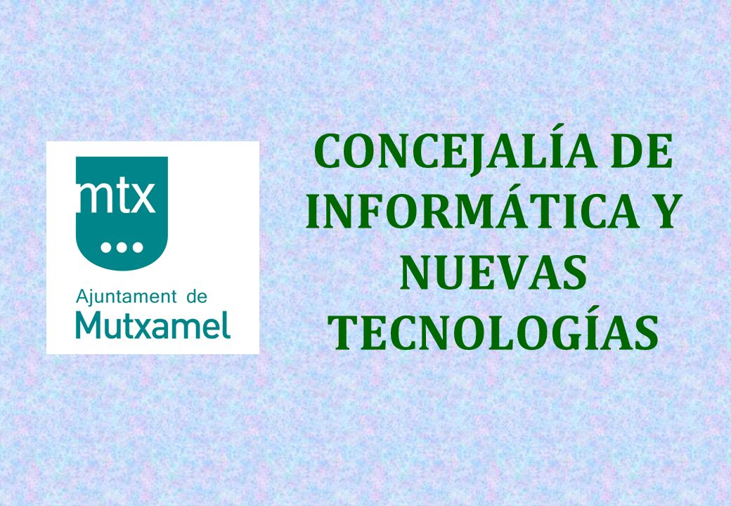 12 HORAS DE INTERNET -L-LA GRAN FIESTA DE INTERNET Y LAS NUEVAS TECNOLOGÍAS EN MUTXAMEL PATROCINADAS POR: -M-MÁS DE 300 ASISTENTES!!.
