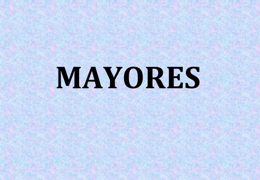 RESUMEN 2010-11 -17 CURSOS -164 mayores participantes -97,61% de ocupación (sobre 168 plazas)