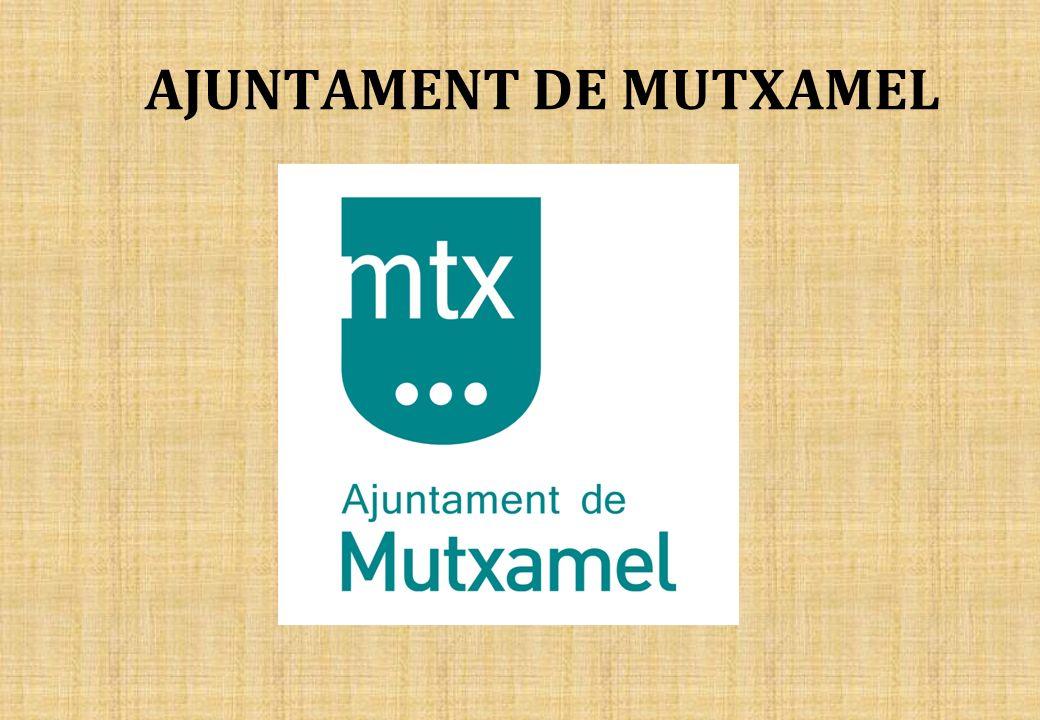 AJUNTAMENT DE MUTXAMEL