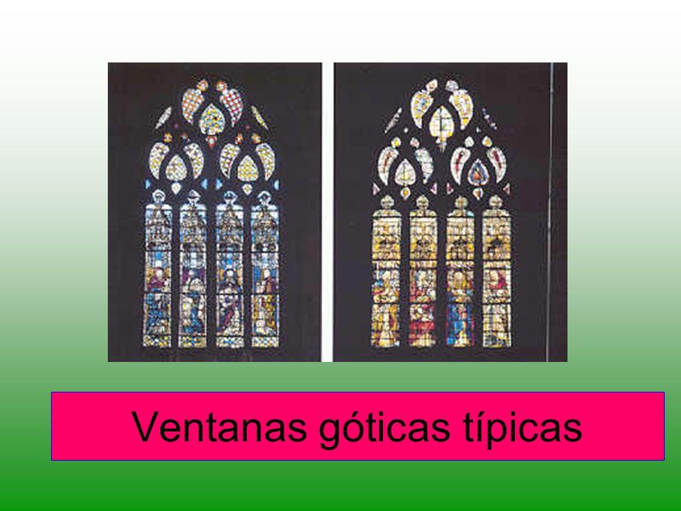 Ventanas góticas típicas
