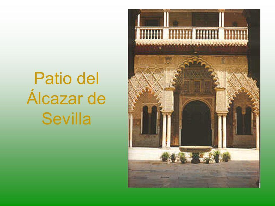Patio del Álcazar de Sevilla