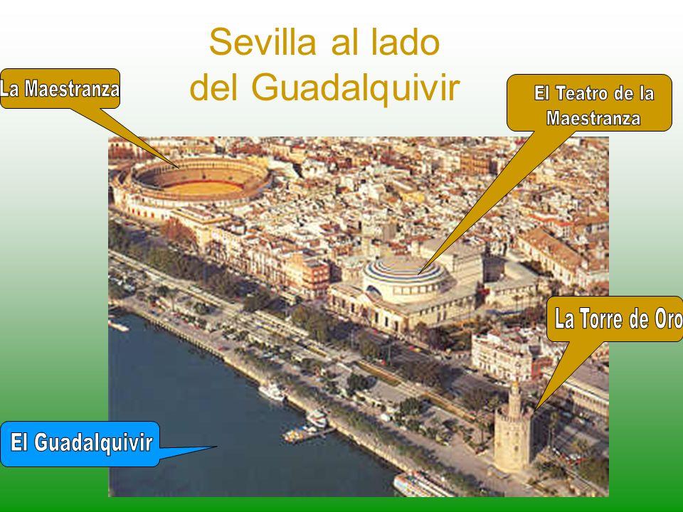 Sevilla al lado del Guadalquivir