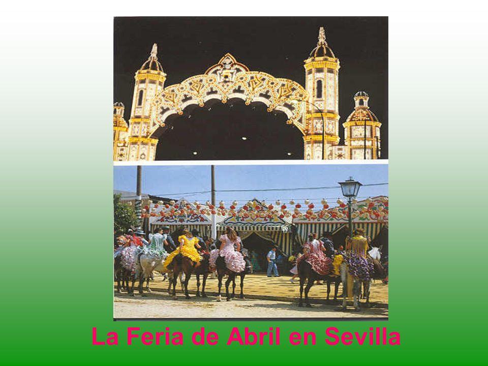 La Feria de Abril en Sevilla