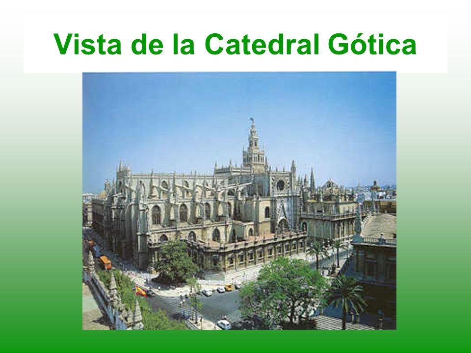 Vista de la Catedral Gótica