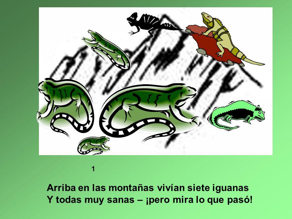 Las Siete Iguanas L etra y Música Patti Lozano Presentación Jeanine Carr