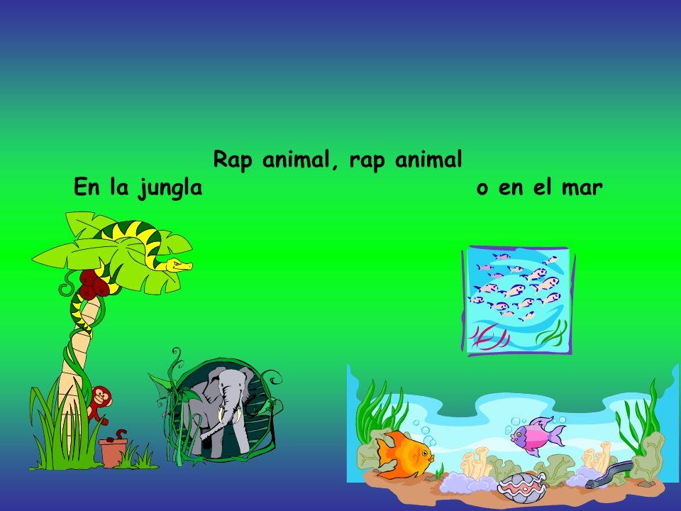 Los animales cantan Este rap sensacional