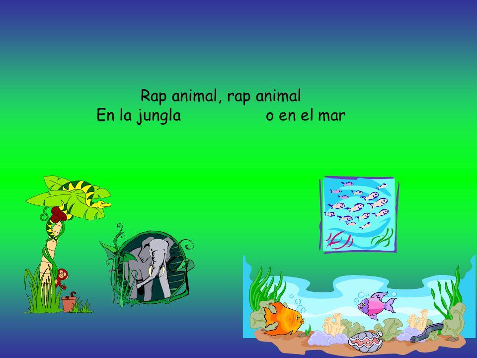 Los animales cantan Este rap