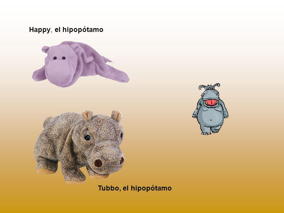 Happy, el hipopótamo Tubbo, el hipopótamo