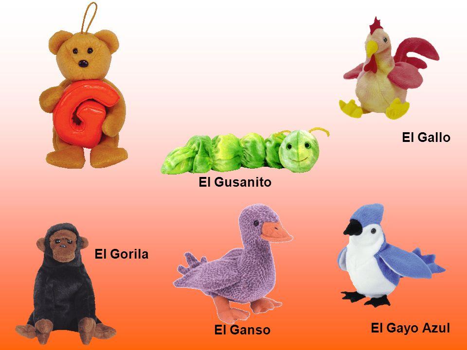 El Gorila El Gallo El Ganso El Gayo Azul El Gusanito