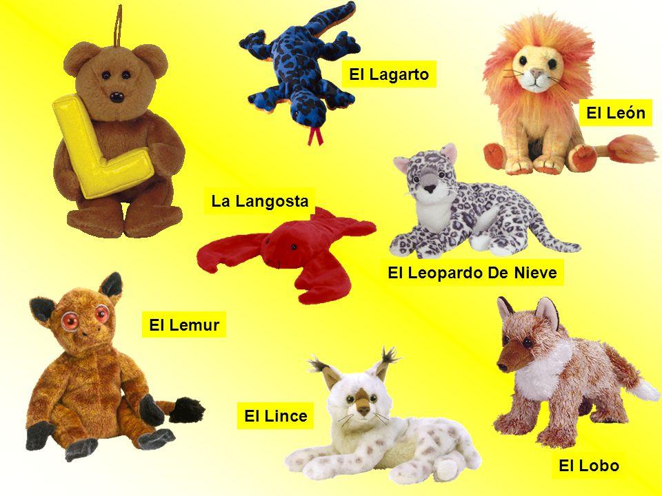 El Lobo El León El Lemur El Lagarto La Langosta El Lince El Leopardo De Nieve