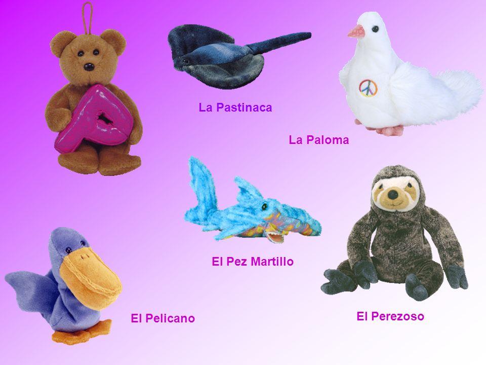 El Pelicano La Paloma El Pez Martillo El Perezoso La Pastinaca