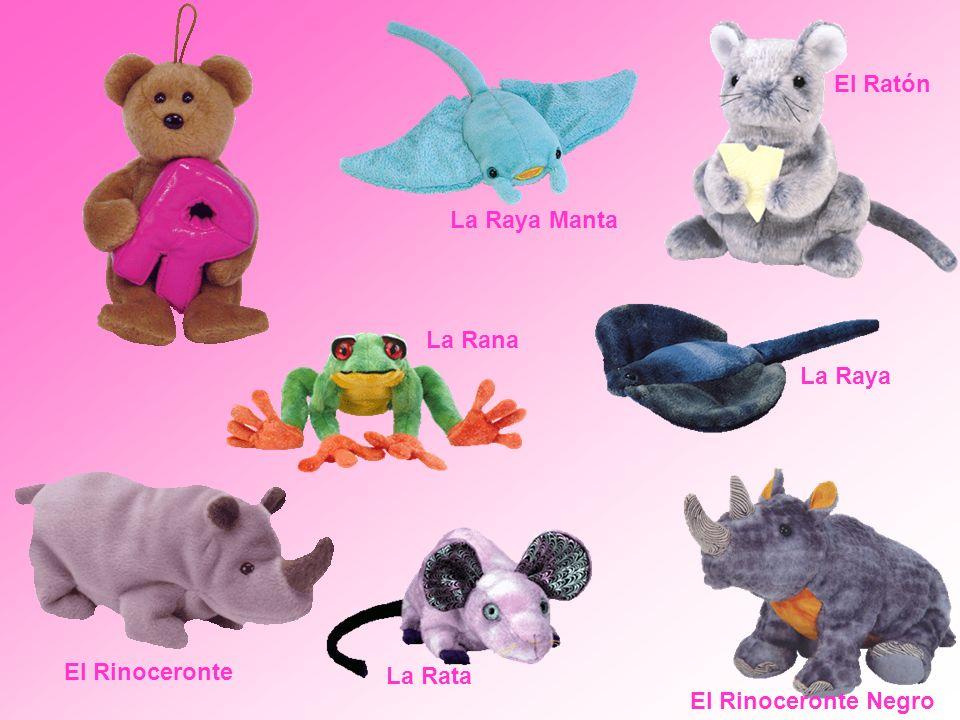El Ratón El Rinoceronte Negro La Rana La Rata El Rinoceronte La Raya La Raya Manta