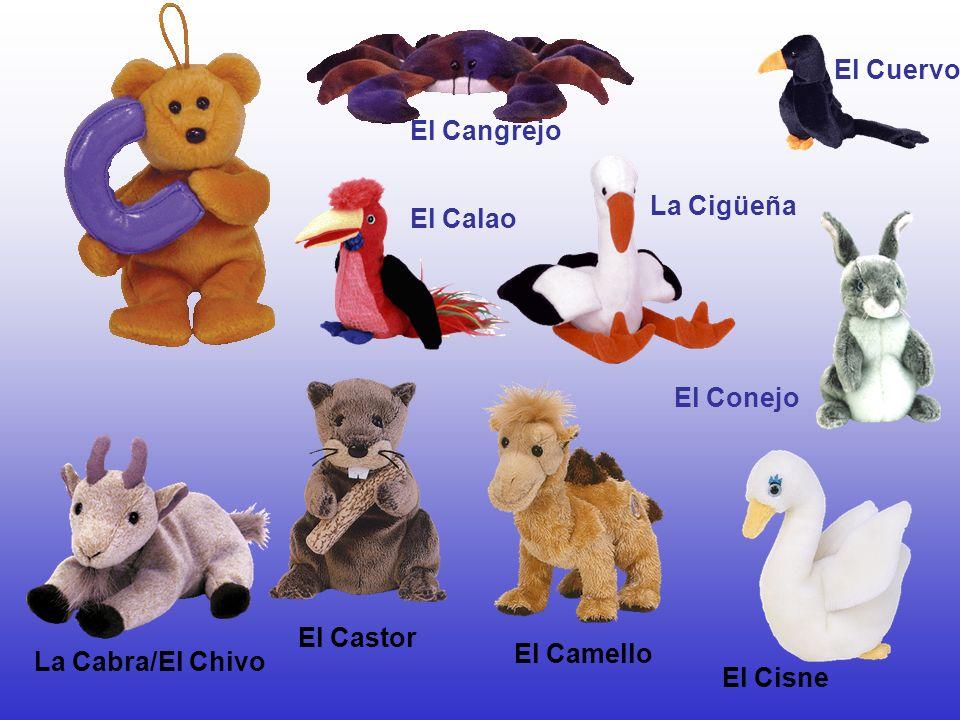 El Conejo El Castor El Cuervo El Cangrejo El Calao La Cabra/El Chivo El Cisne El Camello La Cigüeña