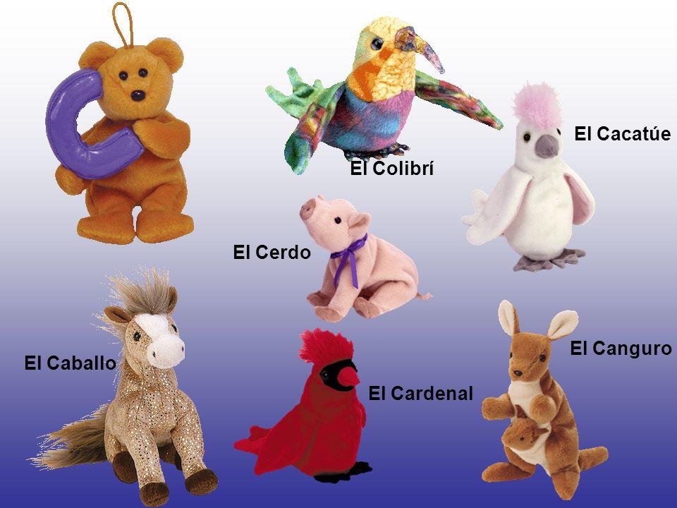 El Cerdo El Cacatúe El Cardenal El Colibrí El Caballo El Canguro