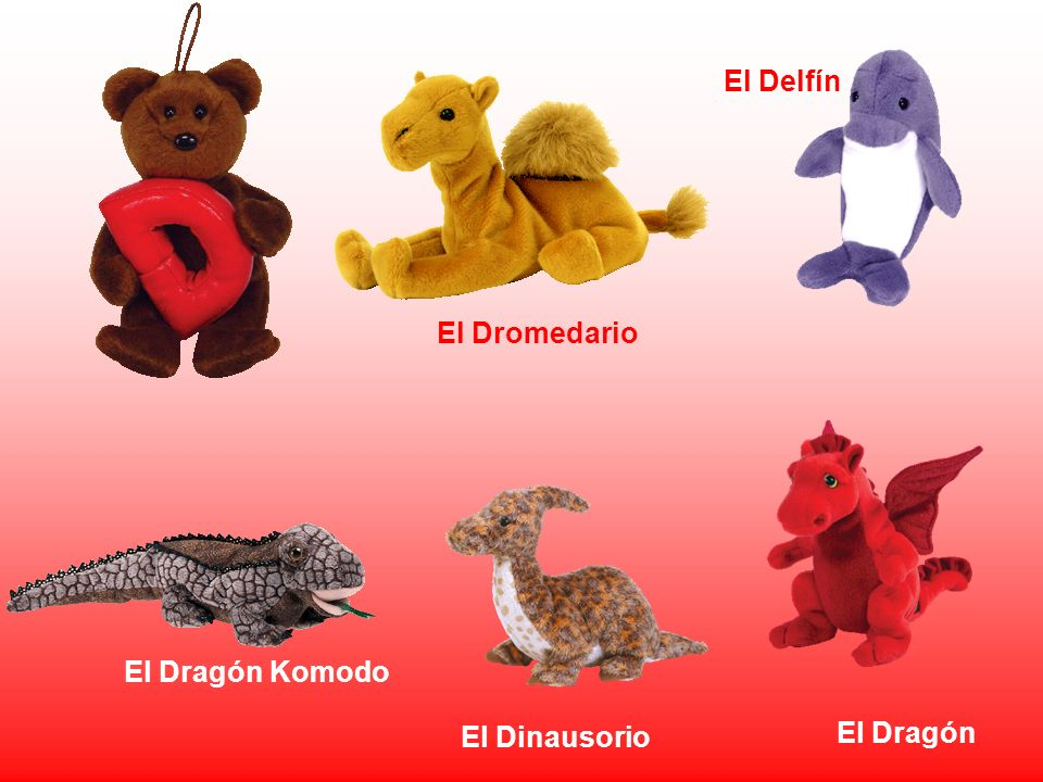 El Dragón El Dragón Komodo El Delfín El Dromedario El Dinausorio