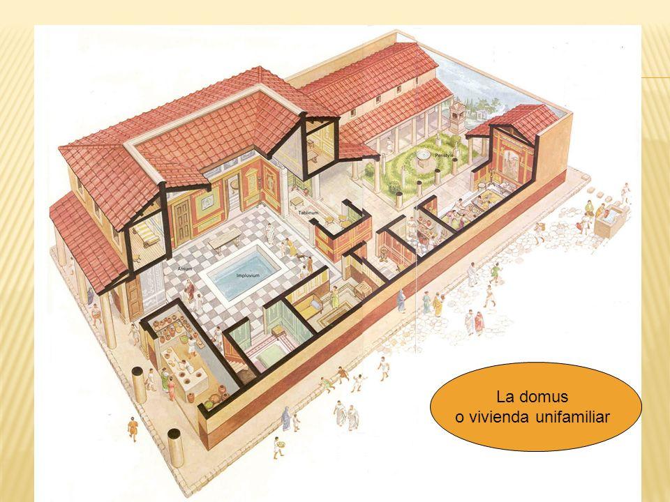 La domus o vivienda unifamiliar