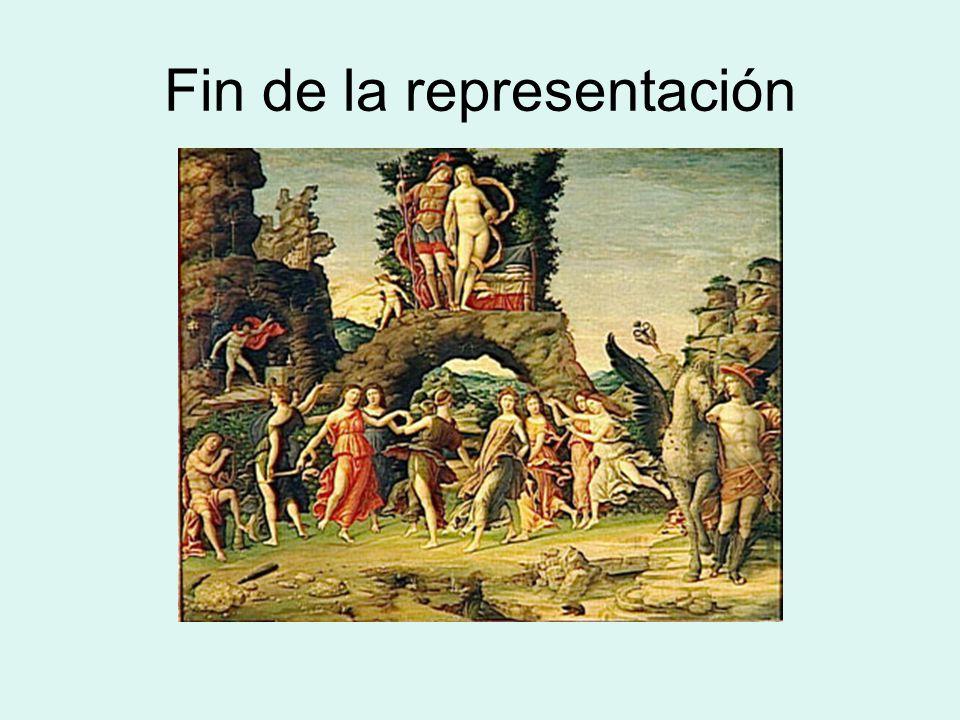 Fin de la representación
