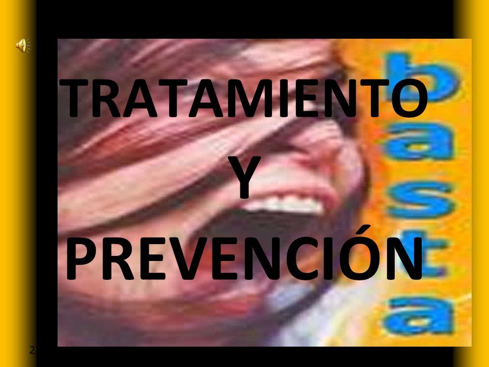 Haga clic para modificar el estilo de subtítulo del patrón 2/12/09 TRATAMIENTO Y PREVENCIÓN