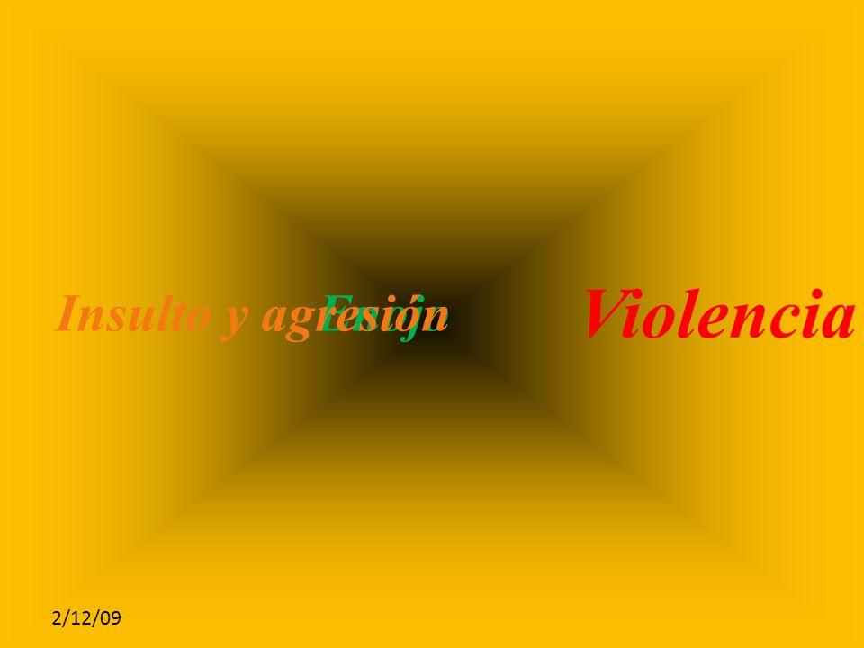 2/12/09 EnojoInsulto y agresión Violencia de Género