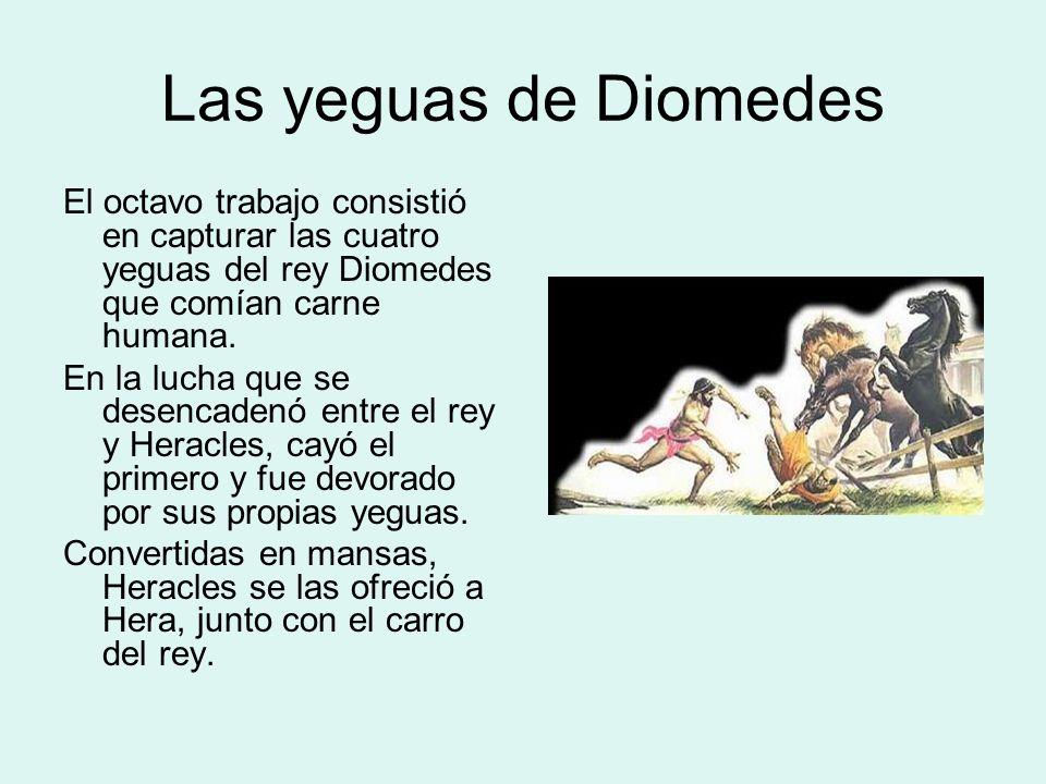 Las yeguas de Diomedes: Representaciones
