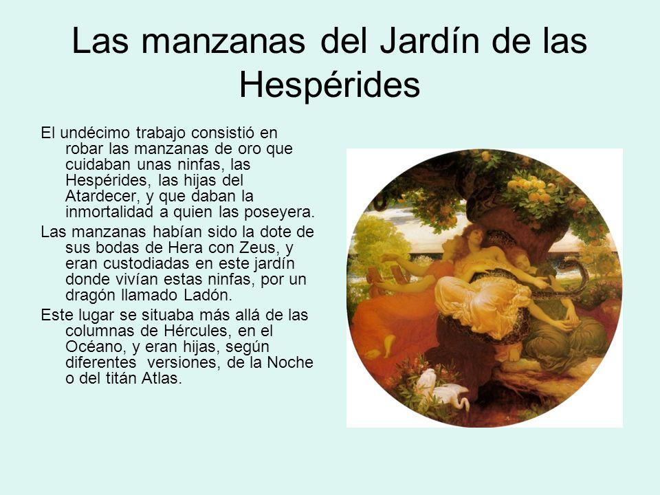 Resultado de imagen para hercules manzanas de oro