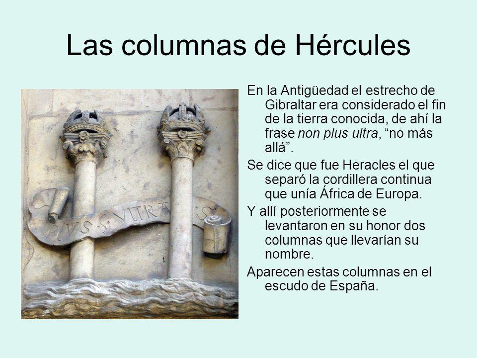 La torre de Hércules Un monumento relacionado con Heracles que aún pervive es la torre de Hércules, en La Coruña.