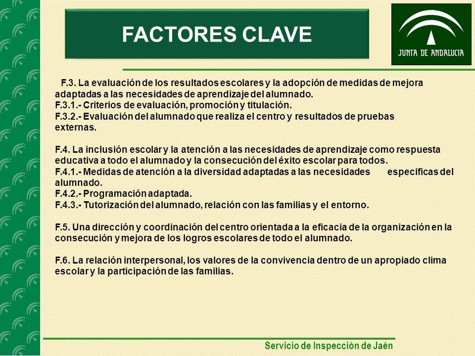 AUTOEVALUACIÓNFACTORES CLAVE F.3.