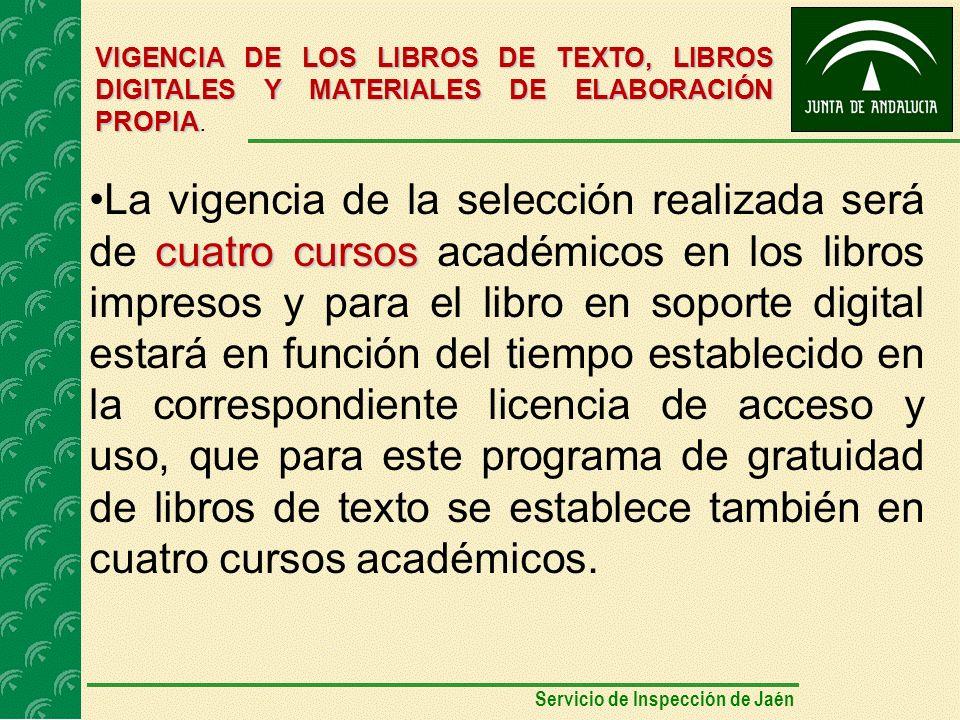VIGENCIA DE LOS LIBROS DE TEXTO, LIBROS DIGITALES Y MATERIALES DE ELABORACIÓN PROPIA VIGENCIA DE LOS LIBROS DE TEXTO, LIBROS DIGITALES Y MATERIALES DE ELABORACIÓN PROPIA.