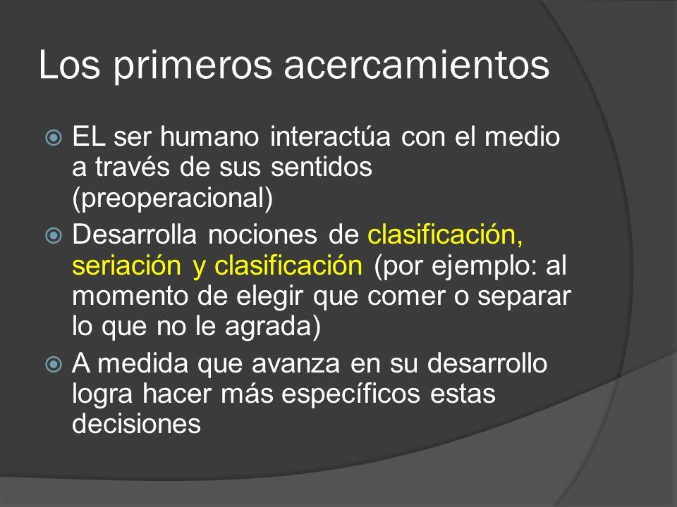Iniciación a la lógica Para poder desarrollar el pensamiento lógico y de relación es necesario considerar: Propiedades de los objetos (absolutas - relativas) Organización de la información Relaciones (correspondencia) Diagramas, gráficos y esquemas (orden visual de la información)