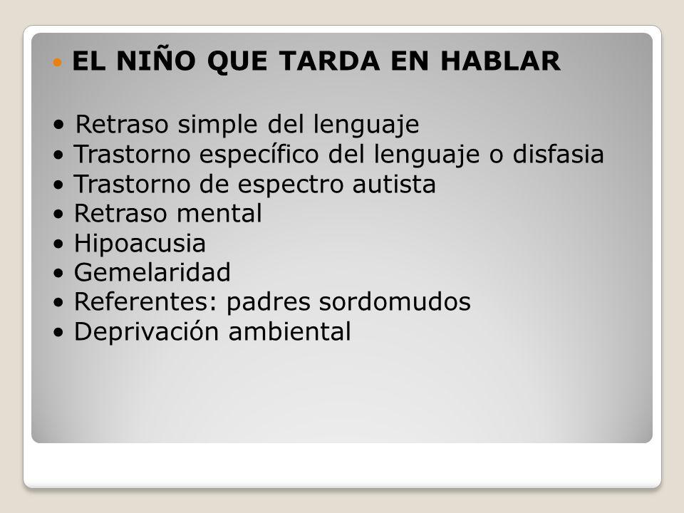 EL NIÑO QUE DEJA DE HABLAR Afasia Mutismo selectivo Regresión autista Síndrome de Rett Trastorno desintegrativo infantil Enfermedad degenerativa
