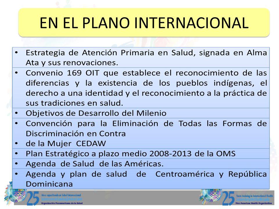 8 Objetivos: Determinar las políticas internacionales de salud ratificadas por el gobierno de Guatemala que influyen en la definición del MAIS Identificar la similitudes del MAIS con la estrategia de APS-r Definir la línea de acción de la cooperación internacional en la implementación del MAIS y su sostenibilidad