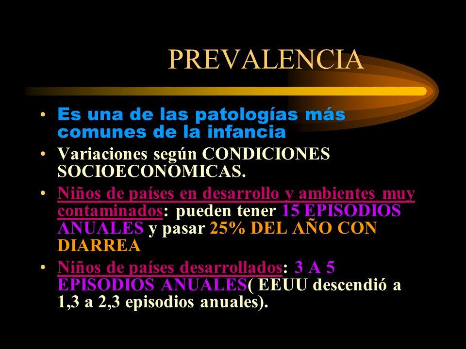 PREVALENCIA EN ARGENTINA Entre 1980-85: 4to.